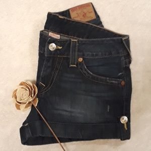 True Religion Brand Jean Shorts Size 30